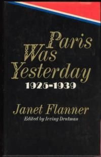 by Janet Flanner, a.k.a. Genêt.