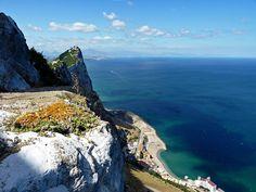 Gibraltar--DONDE SE UNEN EL MAR MEDITERRANEO CONEL OCEANO ATLANTICO¡¡ES UNA BELLEZA TOTAL¡¡Y NATURAL¡¡¡