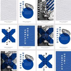 Poster design is not dead. A selection from our brand identity for Henley Oyster Co.