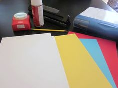 DIY How to Make Binder Divider Pages for Household Notebook or School Supplies-Putting this here to go with the organized notebook.. :)