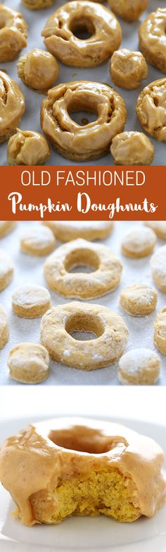 The BEST PUMPKIN DOUGHNUTS EVER!! We couldn't believe how good these were... better than the doughnut shop!