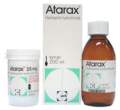 Hydroxyzine/ Υδροξυζίνη για το άγχος για όσους έχουν ιστορικό κατάχρησης (χρησιμοποιείται και στις επεμβάσεις).