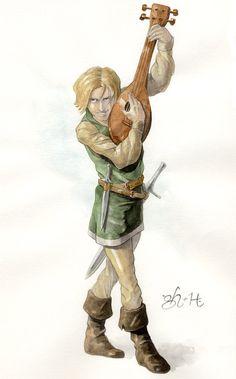The Bard by jeh-artist.deviantart.com on @DeviantArt