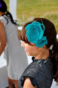 Bridesmaid hair piece