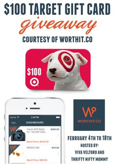A review of the money saving WorthIt.co app, plus a giveaway for a Target Gift Card!