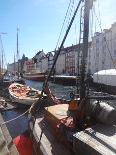 Copenhagem em dia de sol