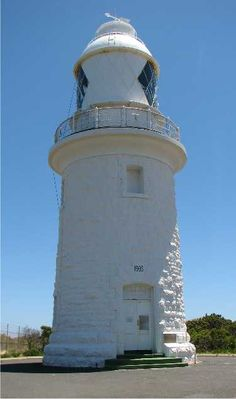 Cape Naturaliste lighthouse [1904 - Eagle Bay, Western Australia, Australia] Lighthouse Lighting, Beacon Of Light, Water Tower, Light Of My Life, Light House, Windmills, Sailboats, Western Australia, Towers