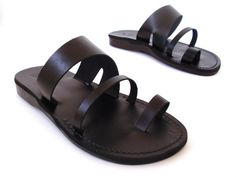 VENTA! Nuevas sandalias de cuero con tirantes. Zapatos para Mujeres y Hombres Chancletas Cintas Pisos Calzado de Diseñador Bíblico de Jesús Otro