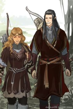 Haleth and Caranthir