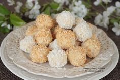 proste kokosowe pralinki a la Raffaello