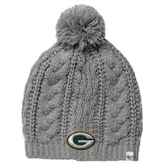 d7f24121e  47 Brand Green Bay Packers Ladies Kiowa Knit Hat – Gray Pittsburgh  Steelers Hats