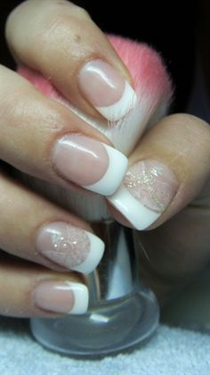 French manicure by Valkira - Nail Art Gallery nailartgallery.nailsmag.com by Nails Magazine www.nailsmag.com #nailart
