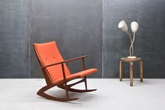 Another picture... how to own another rocker after this beauty?  Danish Georg Jensen Teak Rocker : 20th Century Vintage Industrial : Modern Fifty