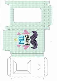 Wreath Crafts, Paper Crafts, Diy Crafts, Paper Box Template, Diy Gift Box, Childrens Party, Scrap, Pouch, Collage