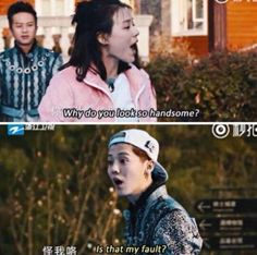 From one of luhans recent movies, or shows, or possibly dramas?