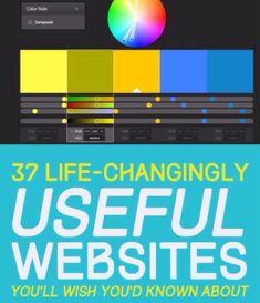 37 Life Changing Websites!!! ☺️ #Various #Trusper #Tip