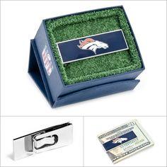 $45.00 NFL Denver Broncos Money Clip  #Walletoutlet #MoneyClip #NFL #Broncos www.walletoutlet.com