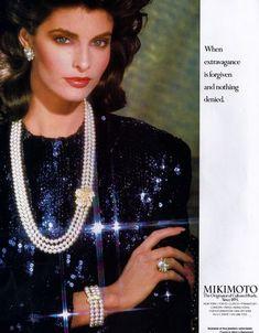 Advertisement: Mikimoto pearls
