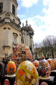 Easter in Lviv, Ukraine