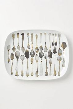 """""""$68.00  Write a review Pin It share this on twittersend to Friend  DETAILS By former fashion-designer and Bretton Hall graduate Bridget Davies Porcelain Dishwasher safe 15""""L, 12""""W Portugal Style #: A25831579 COLOR: DARK GREY PLTTR/TRAY QUANTITY:   ADD TO BASKET ADD to WISH LIST FIND in a STORE SHIPPING and RETURNS"""" https://sumally.com/p/598469"""