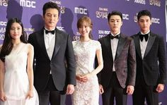 The Flower in Prison Team! . . #jinseyeon #jinseyun #jungdabin #jeongjunho #choitaejoon #seohajun #theflowerinprison #옥중화 #진세연