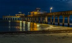 Ft. Myers Beach Pier by Capt. Gerry Hare on 500px