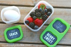 Make It Monday- LunchBlox free printables for building a health lunch #aBetterLunch #ad #Pmedia