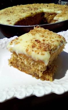 Greek Sweets, Greek Desserts, Greek Recipes, Desert Recipes, Greek Cake, Greek Pastries, Greek Dishes, How Sweet Eats, Yummy Cakes