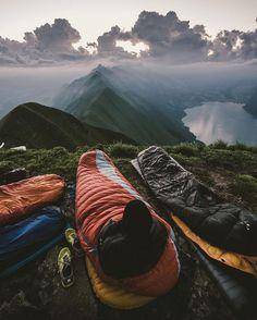 switzerland camping adventure