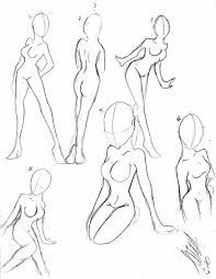how to draw female bodies - Google Search
