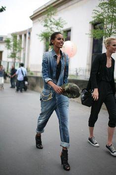 Paris Couture Fashion Week street style #Fall2013 #PFW