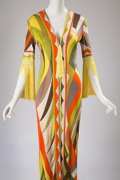 Emilio Pucci, Dress, ca. 1970, Fashion Institute of Technology, New York