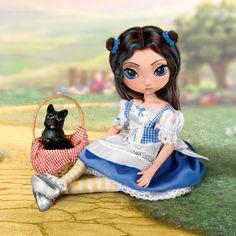 "Ashton Drake Doll Jasmine Beckett's Wizard of Oz - Dorothy - 12"" - 9 rotating joints - Inspired by Jasmine Beckett-Griffith"