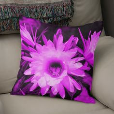 Discover «Cactus Flowers magenta 1389», Exclusive Edition Throw Pillow by Barbara Fraatz - From $29.5 - Curioos Framed Art Prints, Canvas Prints, Welcome Gifts, Magenta, Soft Fabrics, Cactus, Tapestry, Throw Pillows, Artwork