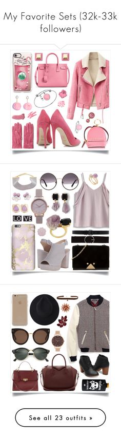 """""""My Favorite Sets (32k-33k followers)"""" by racanoki ❤ liked on Polyvore featuring Dee Keller, GANT, Casetify, MICHAEL Michael Kors, Yves Saint Laurent, BillyTheTree, Marc by Marc Jacobs, Ted Baker, Unwritten and Bobbi Brown Cosmetics"""