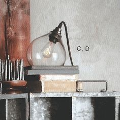 1000 images about s s 2011 home utilitarian on pinterest wooden spoons packaging and - Roost edison lamp ...