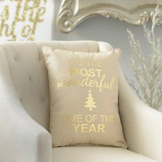Most Wonderful Time of Year Pillow