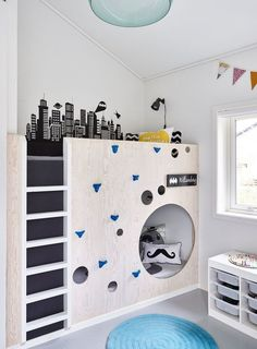 bunk beds bedroom furniture kids beds bedroom ideas bunk beds for kids boys bedding boys room ideas teen bedrooms kids bedroom furniture boys bedroom sets boys bedroom ideas Bunk Beds With Stairs, Kids Bunk Beds, Loft Spaces, Kid Spaces, Deco Kids, My New Room, Boy Room, Kids Bedroom, Bedroom Ideas