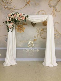Свадебная арка #sratdecor
