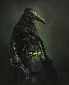 ArtStation - Plague Doctor, alexander koval
