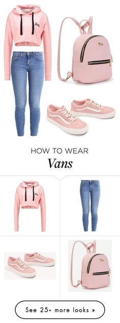 """Outfit ♡"" by geovanacaroline on Polyvore featuring Current/Elliott and Vans #modajuvenil"