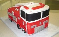 Little kids, especially boys, love fire trucks! Let's face it, fire trucks contain all of the things that are exciting for chlidren. A shiny red...