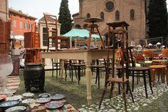 Bologna, Piazza Santo Stefano, Mercato
