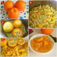 making orange jam Orange Jam, Macedonian Food, Easy Bread Recipes, Bread And Pastries, Vegetable Drinks, Turkish Recipes, Healthy Eating Tips, Food Menu, I Love Food