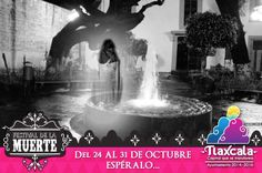 """Andará la Muerte en la capital del 24 al 31 de octubre La muerte se reavivará en la capital, durante la última semana de octubre, con """"El Festival de la Muerte"""", que del 24 al 31 de Octubre, celebrará el Ayuntamiento de Tlaxcala, con el propósito de difundir y resaltar las tradiciones, leyendas y formas de celebrar el Día de Muertos."""