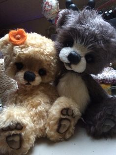 Two new guys for @One More Bear shop