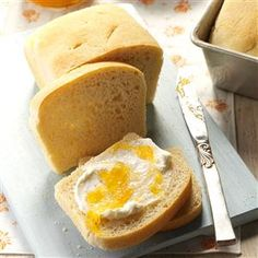 Homemade English Muffin Bread Recipe -Most of my cooking and baking is from scratch, and I think it's worth the time and effort. Everyone enjoys homemade goodies like this delicious bread. —Elsie Trippett, Jackson, Michigan