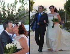 Manuel y Noli se conocieron hace más de 3 años a través de eDarling. Cuentan que desde la primera sonrisa, todo fue sobre ruedas. ¡Hoy nos envían las fotos de su boda!