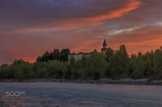 Rivalta Castle @ Sunset - null