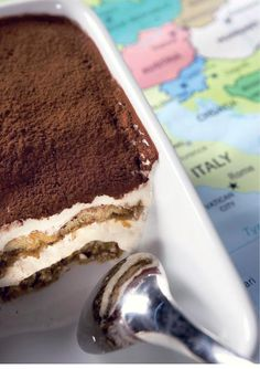 Italialainen tiramisu // Tiramisu Food & Style Matleena Lahti Photo Juha Juntto Maku www. Finnish Recipes, Italian Recipes, My Cookbook, Piece Of Cakes, Tiramisu, Sweet Tooth, Deserts, Food And Drink, Sweets